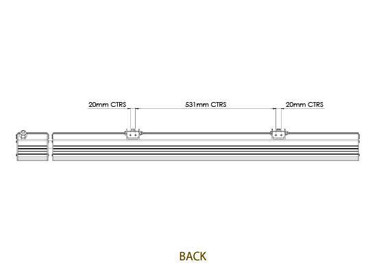 Eclipse Triple Infrared Quartz Ceramic Heater Tansun