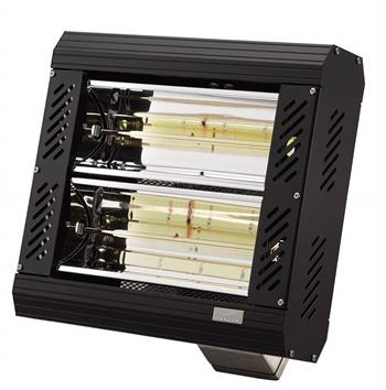Tansun Apollo A1B Infrared Quartz Heater in Black