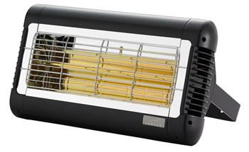 Tansun Sorrento Commercial Infrared Quartz Heater in Black