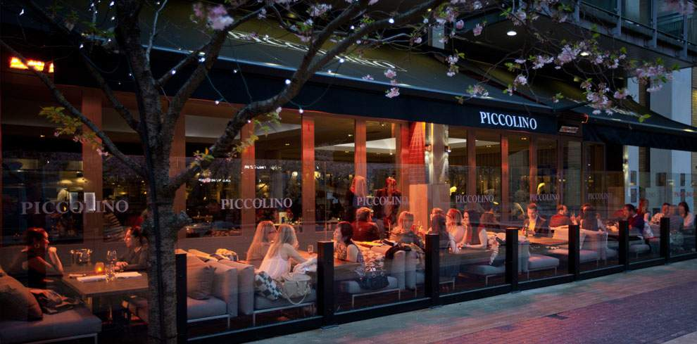 Tansun Monaco Double Infrared Heaters Installed At Piccolino Restaurant In Birmingham