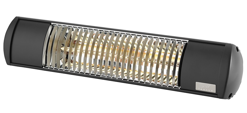 Infrared heaters for stores from