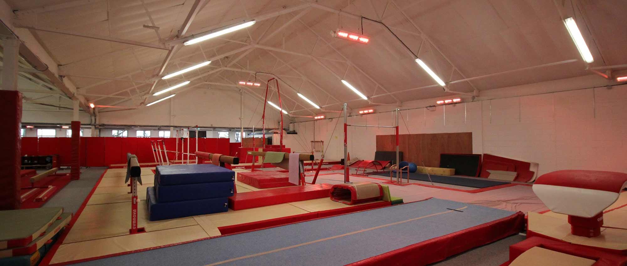 hamilton gymnastics club heaters